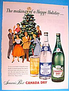 Vintage Ad: 1952 Canada Dry (Image1)