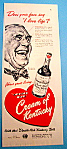 Vintage Ad: 1948 Cream Of Kentucky By Norman Rockwell