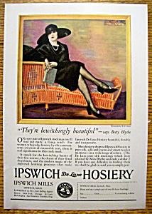 Vintage Ad: 1925 Ipswich De Luxe Hosiery (Image1)