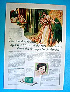 Vintage Ad: 1925 Woodbury's Facial Soap (Image1)