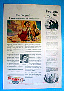 Vintage Ad: 1925 Colgate's Dental Cream (Image1)