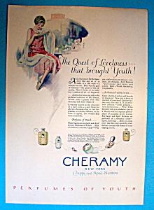 Vintage Ad: 1925 Cheramy Perfumes (Image1)