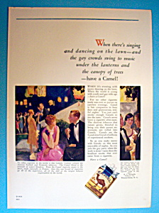 1926 Camel Cigarettes with Group of People Smoking (Image1)