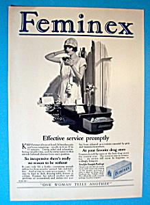 Vintage Ad: 1926 Feminex (Image1)
