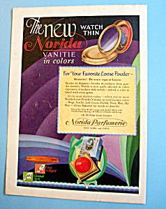 Vintage Ad: 1928 Norida Loose Powder (Image1)