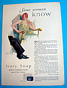 1928 Ivory Soap with Woman Sitting in a Chair (Image1)