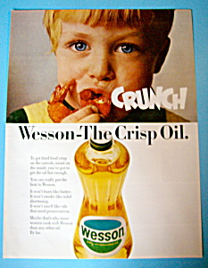 Vintage Ad: 1966 Wesson Oil