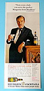 Vintage Ad: 1966 Heublein Cocktais w/ Fernando Lamas (Image1)