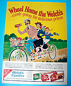 Vintage Ad: 1966 Welch's Candies
