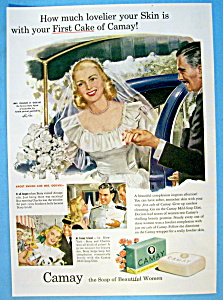 1949 Camay Soap with Bride Getting Out Of Car (Image1)