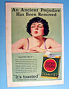 Vintage Ad: 1929 Lucky Strike Cigarettes (Image1)