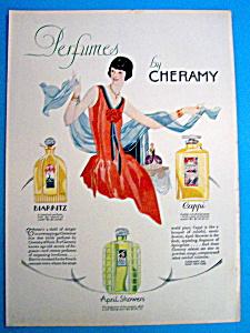 Vintage Ad: 1927 Cheramy Perfume (Image1)