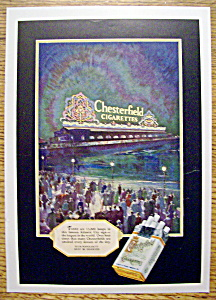 Vintage Ad: 1927 Chesterfield Cigarettes (Image1)