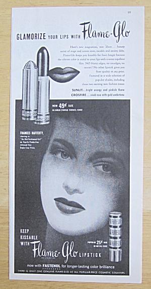 1949 Flame Glo Lipstick with Frances Rafferty (Image1)