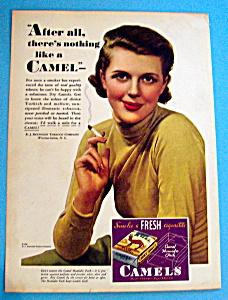 Vintage Ad: 1933 Camel Cigarettes (Image1)