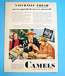 1932 Camel Cigarettes w/Couple Smoking Cigarettes (Image1)