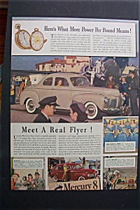 1941 Mercury 8 with a Great Picture of a Mercury  (Image1)