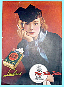 Vintage Ad: 1935 Lucky Strike Cigarettes (Image1)