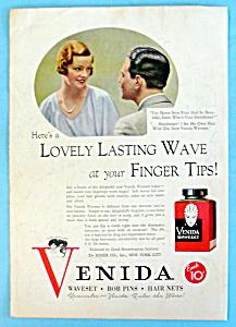 Vintage Ad: 1932 Venida Waveset (Image1)