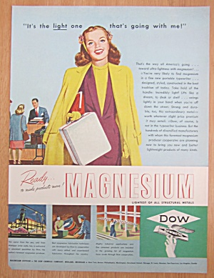 1946 Dow Magnesium with Woman Carrying Case (Image1)