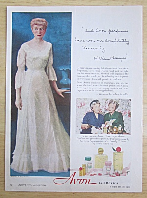 1951 Avon Cosmetics with Helen Hayes  (Image1)