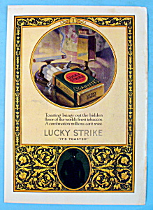Vintage Ad: 1924 Lucky Strike Cigarettes (Image1)