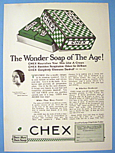 Vintage Ad: 1926 Chex Soap (Image1)