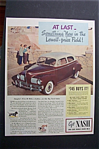 1941 Nash Cars with Great Picture of a Nash Automobile (Image1)