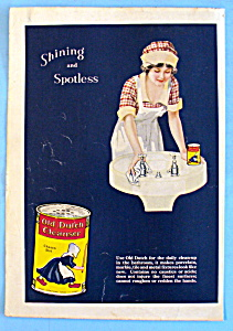 Vintage Ad: 1932 Old Dutch Cleanser (Image1)