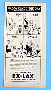 Vintage Ad: 1933 Ex-Laxative (Image1)