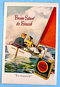 Vintage Ad: 1933 Lucky Strike Cigarettes (Image1)