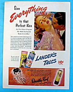 Vintage Ad: 1943 Lander's Talc (Image1)