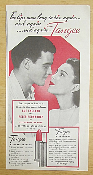1949 Tangee Lipstick with Sue England & Peter Fernandez (Image1)