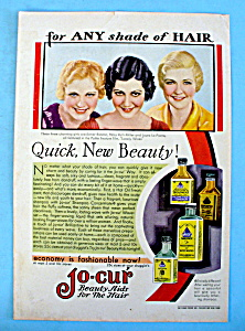 Vintage Ad: 1931 Jo-cur W/ Esther Ralston