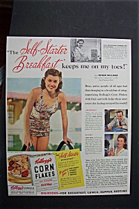 1941 Kellogg Corn Flakes with Esther Williams (Image1)