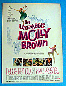 Vintage Ad: 1964 The Unsinkable Molly Brown (Image1)
