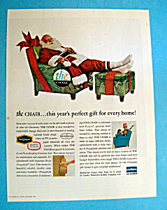 Vintage Ad: 1965 The Chair With Santa Claus