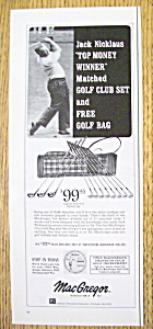 1965 MacGregor Clothing with Golf's Jack Nicklaus (Image1)