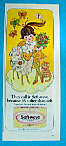 Vintage Ad: 1965 Soft-Weve Toilet Tissue (Image1)