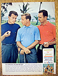 1966 Jantzen Golf Shirts with Frank Gifford/Bob Cousy (Image1)