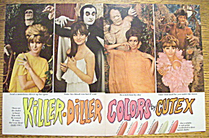 1966 Cutex Nail Polish w/Dracula & Mummy (Image1)