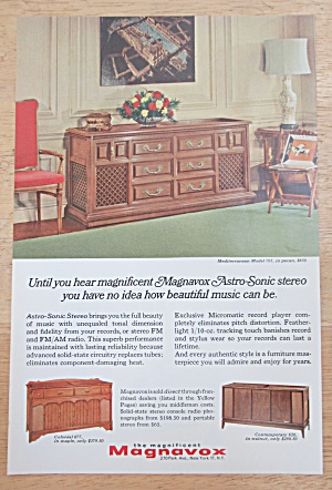 1966 Magnavox With The Astro Sonic Stereo
