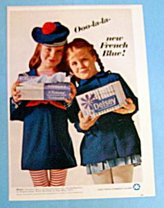 Vintage Ad: 1966 Delsey Toilet Tissue (Image1)