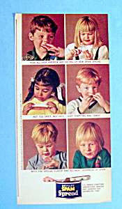 Vintage Ad: 1966 Spam Spread