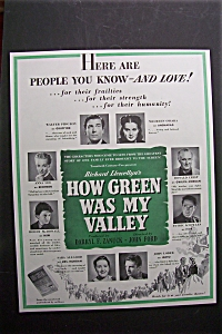 Vintage Ad: 1941 How Green Was My Valley