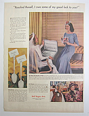 1938 1847 Rogers Bros. with Rosalind Russell (Image1)