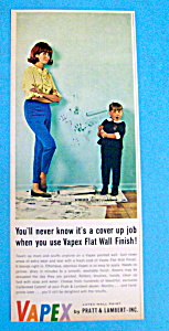 1967 Vapex Flat Wall Paint with Girl Holding Roller (Image1)