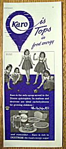 Vintage Ad: 1939 Karo Syrup w/ Dionne Quintuplets (Image1)