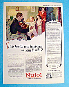 Vintage Ad: 1924 Nujol (Image1)
