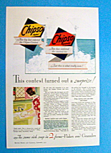 Vintage Ad: 1931 Chipso (Image1)